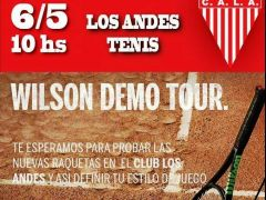 Wilson demo day en Los Andes